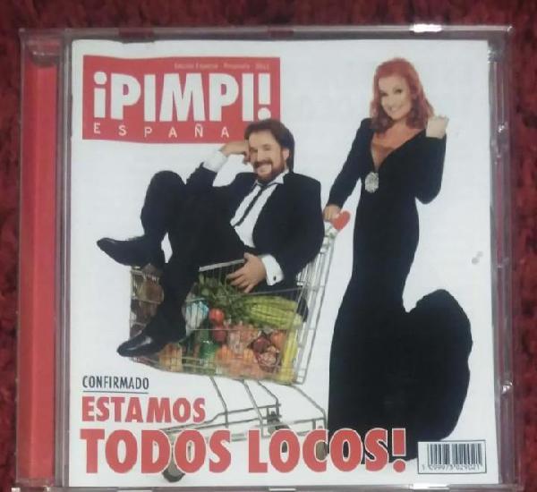 Pimpinela (estamos todos locos!) cd 2011