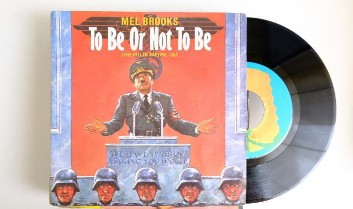 To be or not to be, mel brooks. the hitler rap. single