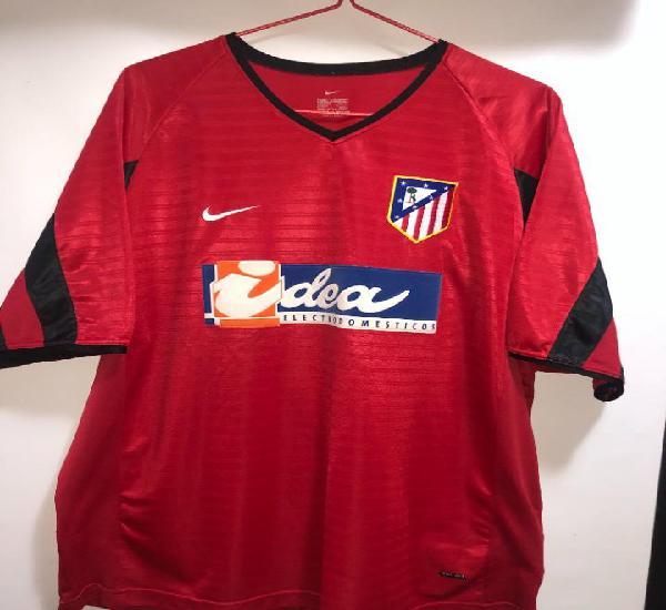 Atletico de madrid camiseta futbol 2001 2002 oficial nike