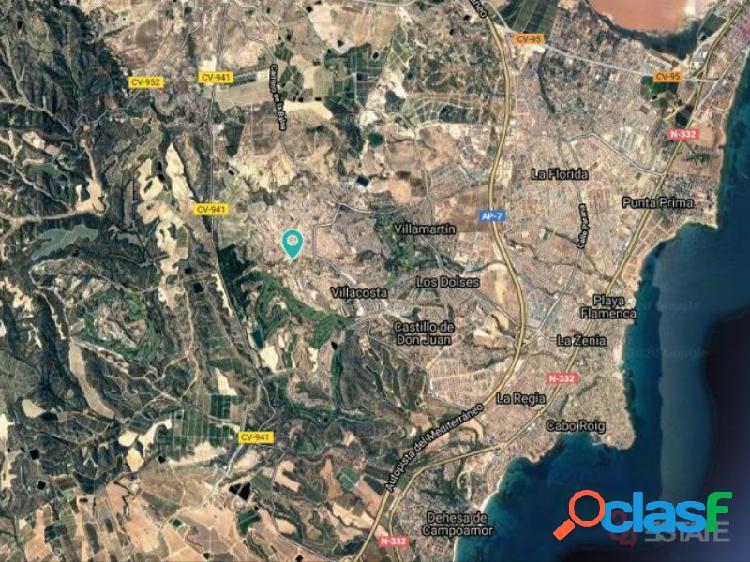 Solar Urbano para 13 Villas, Las Filipinas, Orihuela Costa, Alicante, España