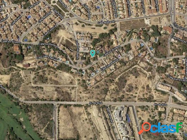 Solar Urbano para 13 Villas, Las Filipinas, Orihuela Costa, Alicante, España 1