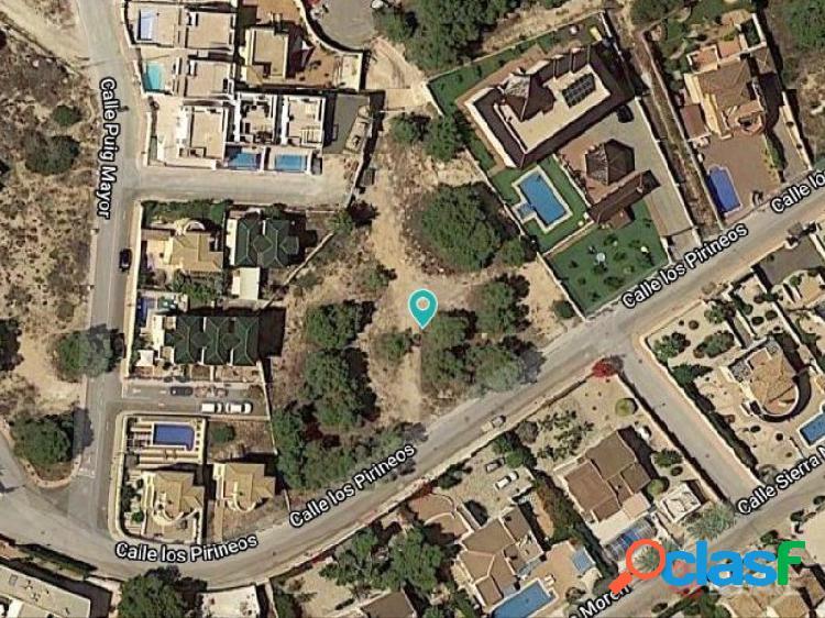 Solar Urbano para 13 Villas, Las Filipinas, Orihuela Costa, Alicante, España 3