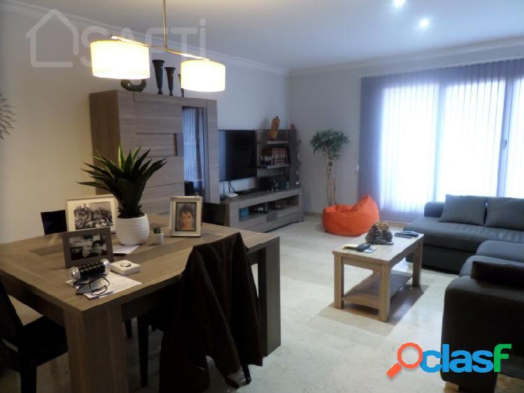 Ático amueblado con 2 habitaciones y amplia terraza a pie de obra, zona residencial la forja, zona centro puerto de sagunto, valencia