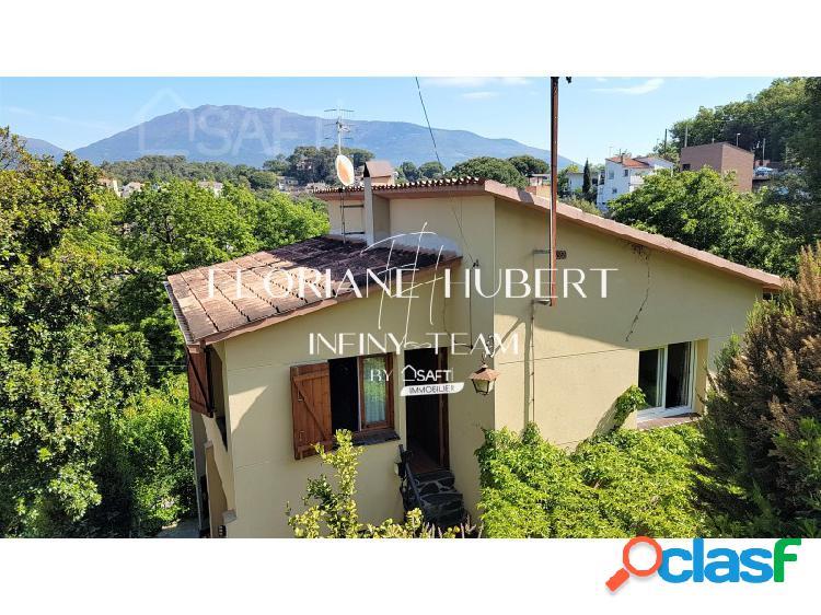 Casa 5 hab con magnifico jardin y vistas al montseny a 20mn de la roca village