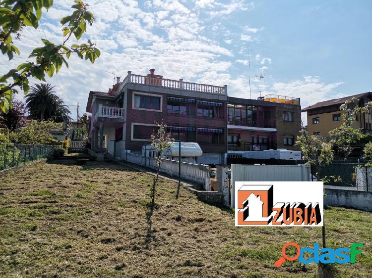 Exclusiva inmobiliaria zubia - se vende fantástico chalet adosado en el barrio de nocedal, ortuella,tiene 3 plantas y un terreno de 900 m2. posibilidad de hacer dos viviendas