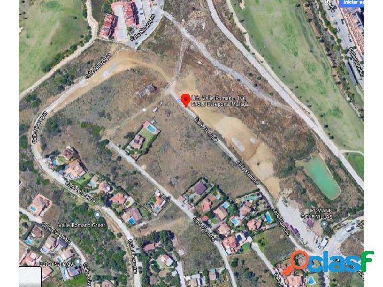 Parcelas disponibles en valle romano golf