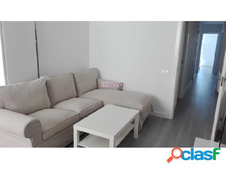 Estupendo piso reformado en alquiler