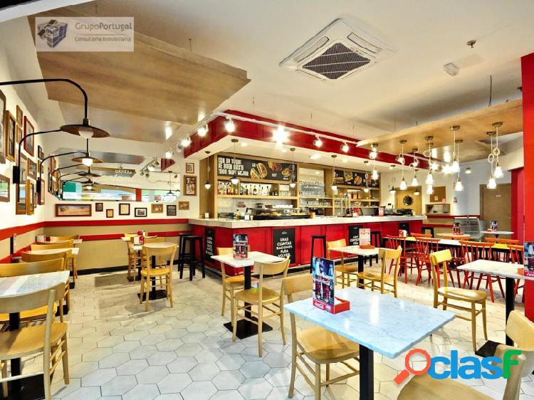 Traspaso bar restaurante de 150m² con terraza en c.c. carrefour san fernando de henares