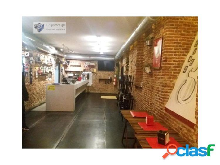 Traspaso bar restaurante con terraza en la latina