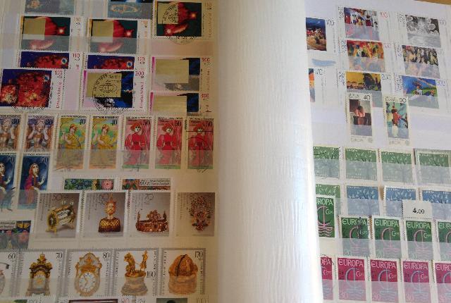 Album de sellos alemania federal y berlin - sevilla
