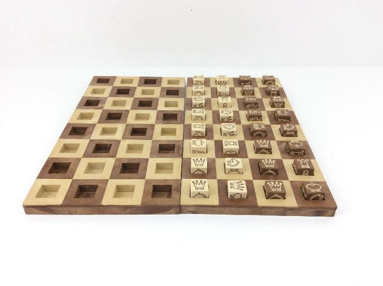 Set tablero fichas otros cubos cuadrados