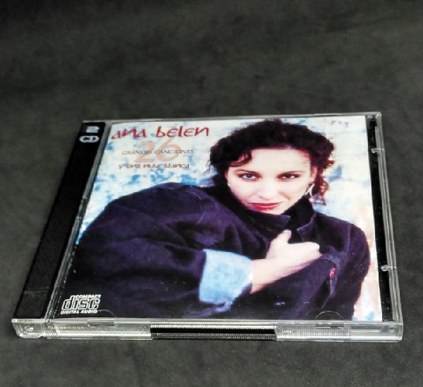 Ana belén - 26 grandes canciones y una nube blanca - cd