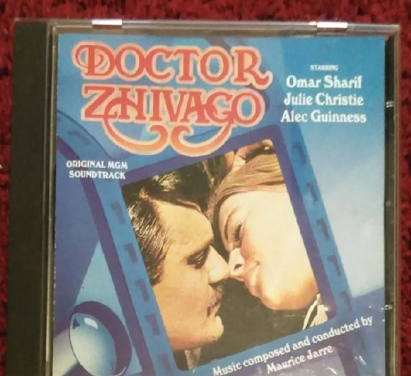 B.s.o. doctor zhivago (música compuesta por maurice jarre)