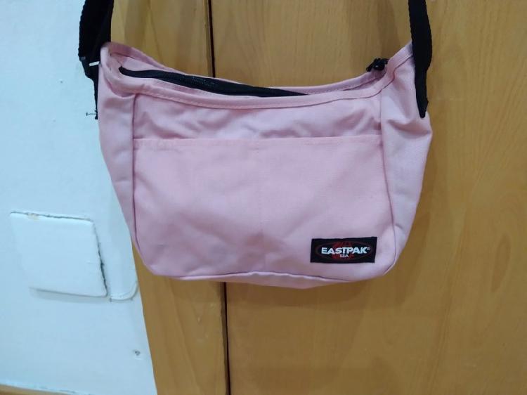 Bolso rosa clarito lona marca espack