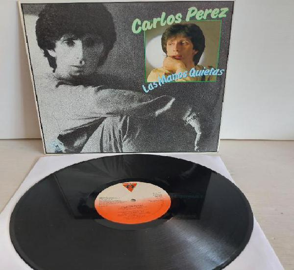 Carlos perez / las manos quietas / maxi sg - victoria-1984 /