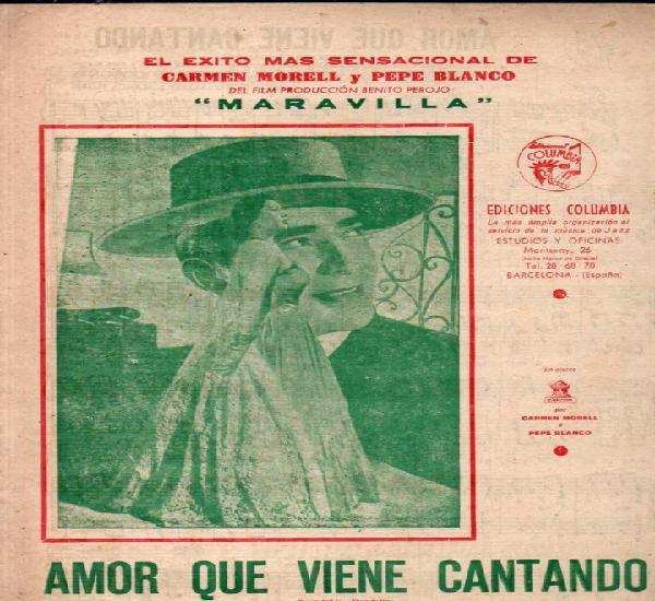 Carmen morell y pepe blanco: amor que viene cantando