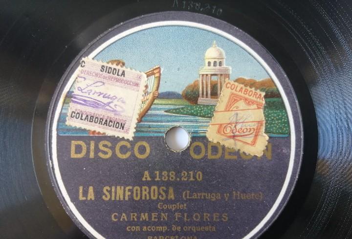 Carmen flores - colón, colón / la sinforosa - odeon