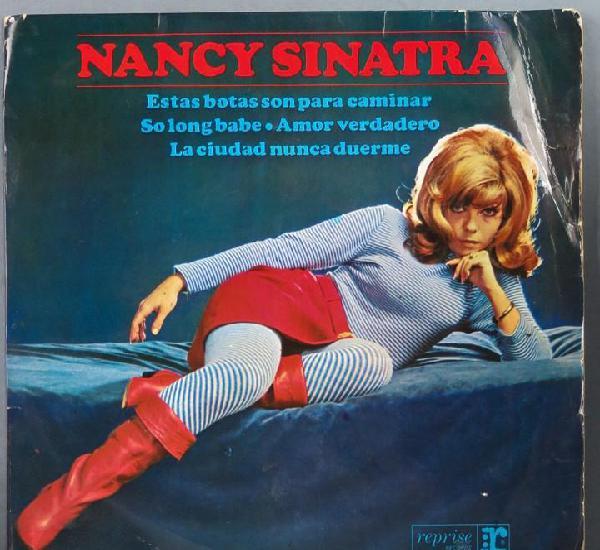 Ep. nancy sinatra. estas botas son para caminar