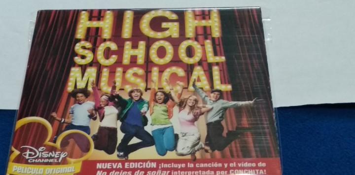 High school musical banda sonora b.s.o. disney cd album 14