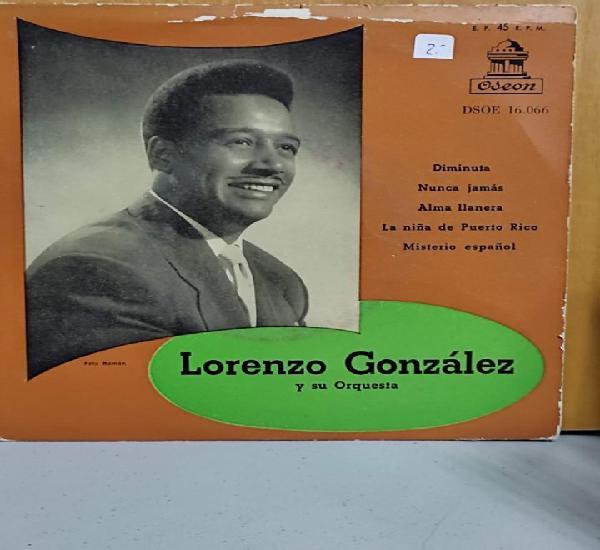 Lorenzo gonzalez - diminuta / nunca mas / alma llanera / la