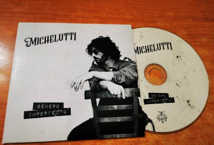 Manu michelutti genero imperfecto cd album promo carton cd-r