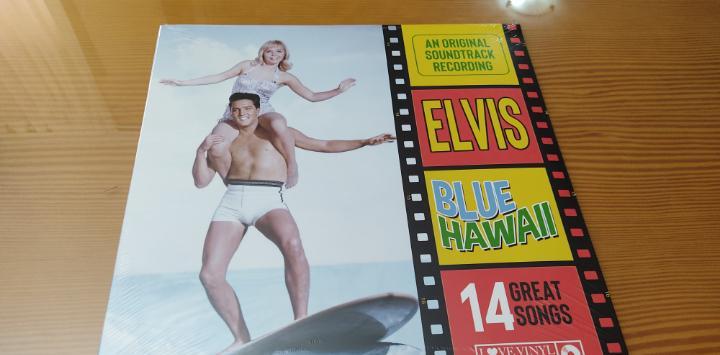 "Precintado !! disco vinilo lp elvis presley,b.s.o. ""blue"