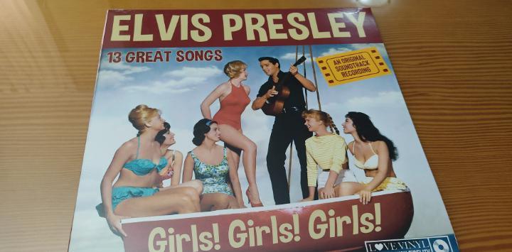 "Precintado !! disco vinilo lp elvis presley,b.s.o. ""girls!"