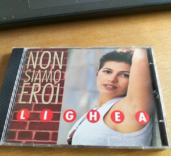 Rar cd. lighea. non siamo eroi. carosello. made in italy. 10