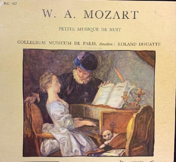 W. a. mozart. petite musique de nuit.
