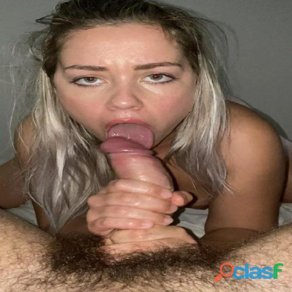 Paula joven sumisa facial espanola
