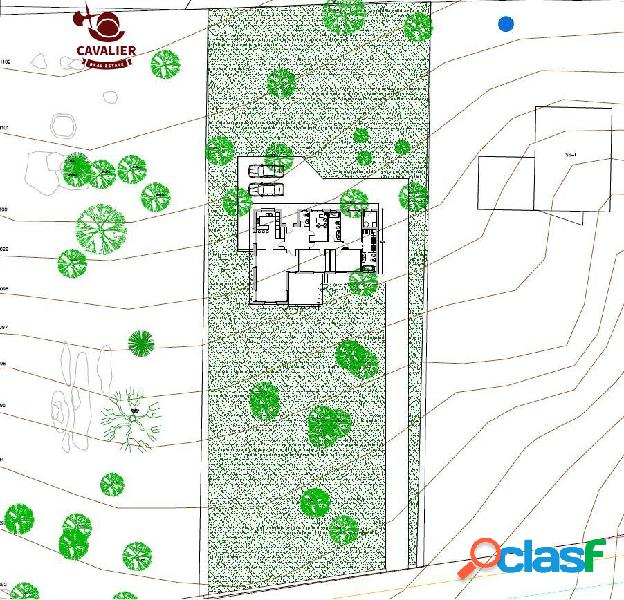 Exclusivo chalet de obra nueva en una única planta con 180m2 sobre parcela de 2.262m2