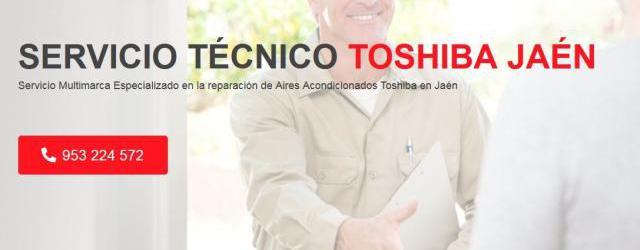 Servicio técnico toshiba jaén 953274259