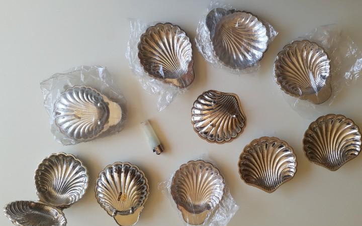 10 conchas. alpadur, pedro durán. sin usar