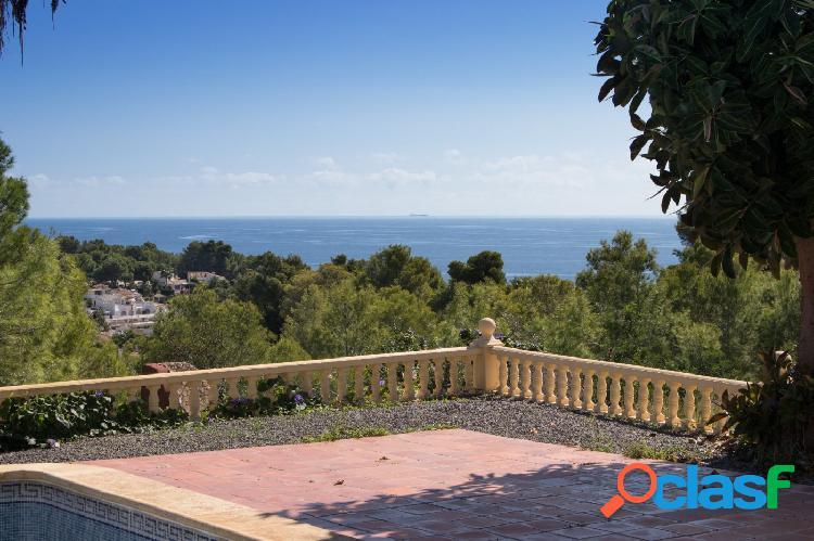 ✓ chalet vistas al mar y piso invitados benissa