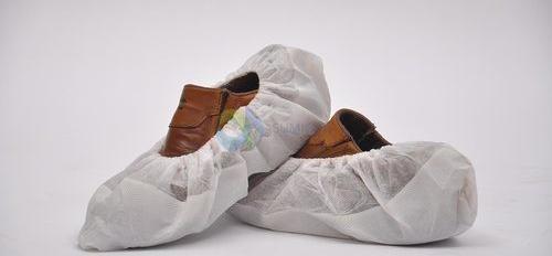Cubrezapatos con suela cpe blanco/blanco, caja 200 unidades
