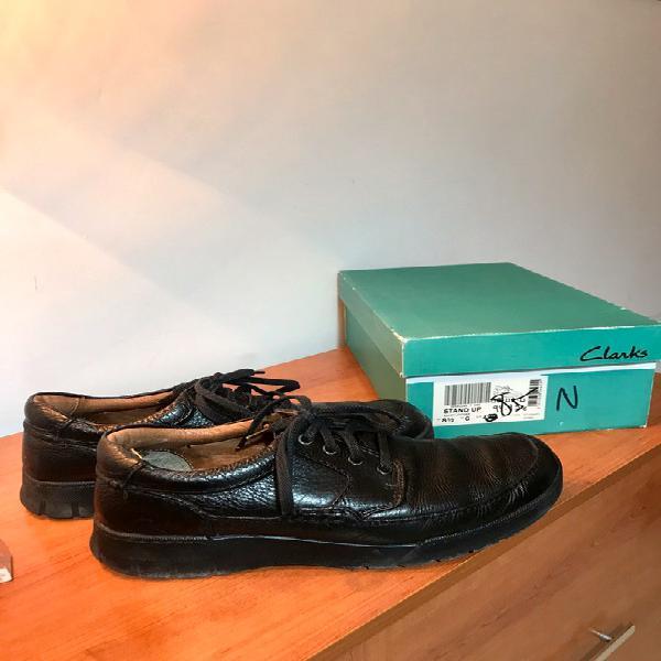 Zapatos vestir ???? cuero negro de clarks