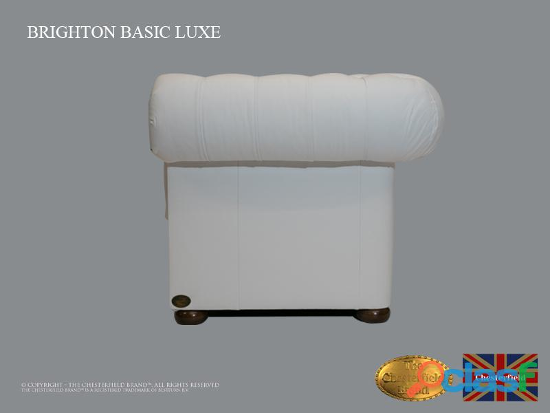 Sofá Chester Brighton Basic *3 plazas* Blanco *Cuero 2