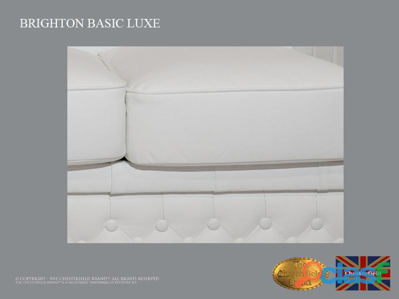 Sofá Chester Brighton Basic *3 plazas* Blanco *Cuero 3