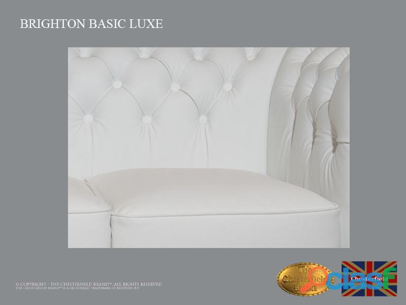 Sofá Chester Brighton Basic *3 plazas* Blanco *Cuero 4
