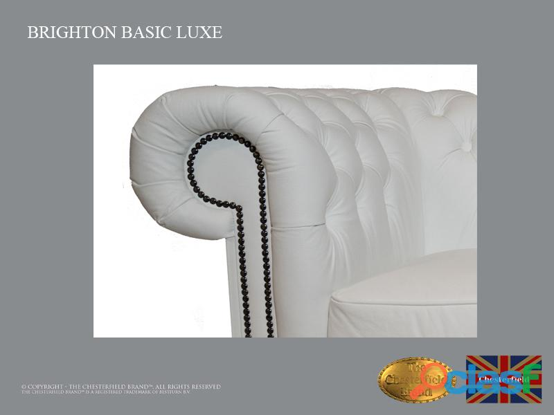 Sofá Chester Brighton Basic *3 plazas* Blanco *Cuero 5
