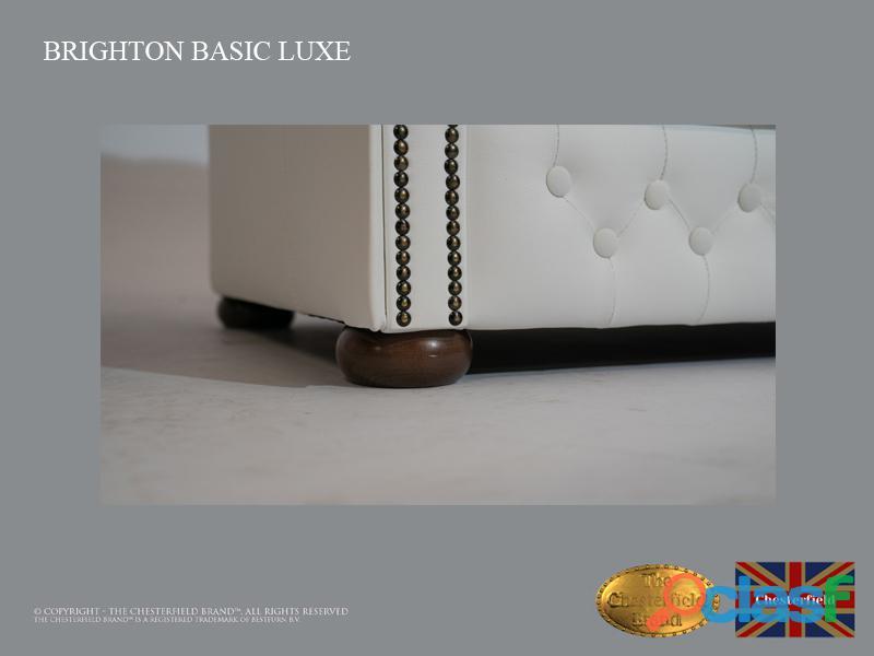 Sofá Chester Brighton Basic *3 plazas* Blanco *Cuero 6