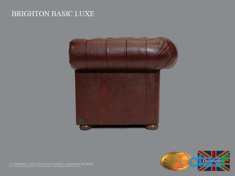 Sofá Chester Brighton Basic *3 plazas* Cloudy Red *Cuero 2