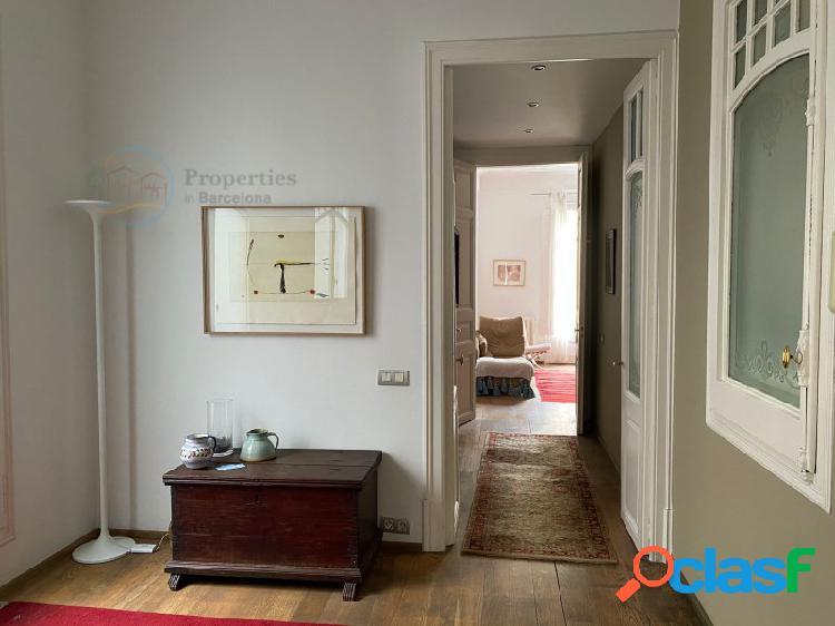 Magnífico piso en venta muy luminoso de 164 m2 en finca modernista