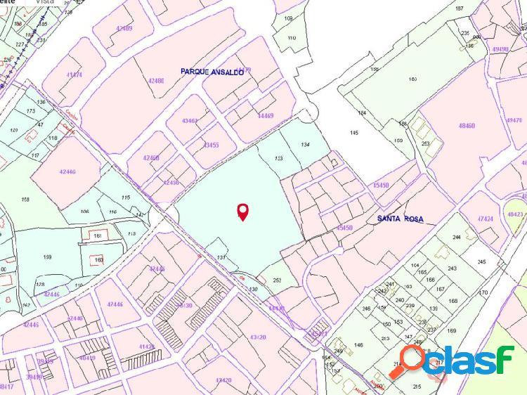 Parcela en venta san juan, alicante, 62.449 m2 residencial, 300 viviendas y 6245 m2 comercial.