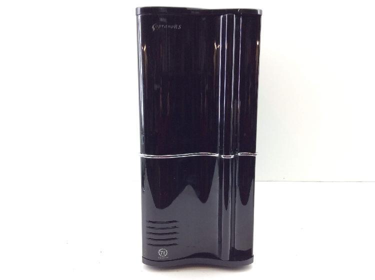 Pc otros negro 44cm altura lateral transparente
