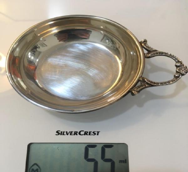 Catavinos plata de ley, pesa 55 gr.