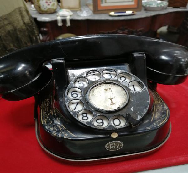 Teléfono francés negro