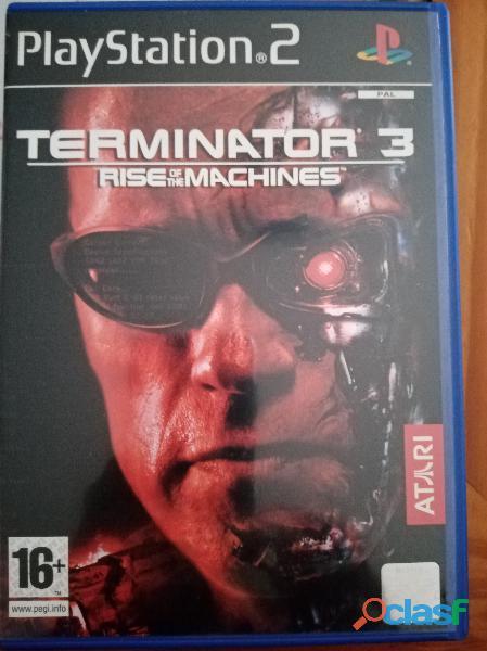 Se vende juego de ps2 termineitor 3 rebelion de las maquinas