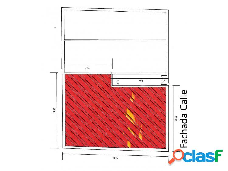 Vendo local 10 mts de fachada entrevias madrid m-150