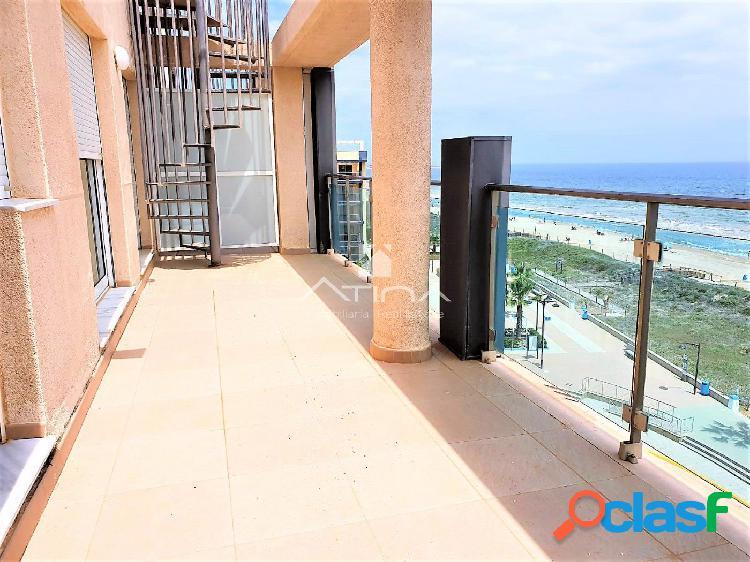 Ático dúplex con vistas abiertas al mar situado en 1ª línea playa Guardamar de la Safor 2
